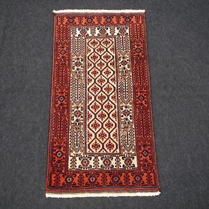 Alter Orient Teppich 160 X 83 Cm Perserteppich Belutsch Beige Felder Muster Rug Seien Sie In Geldangelegenheiten Schlau