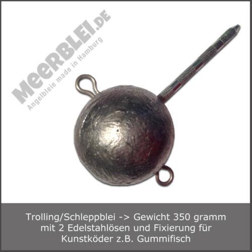 Angelblei mit Fixierung für Kunstköder /> Trolling Blei//Schleppblei 350 gr