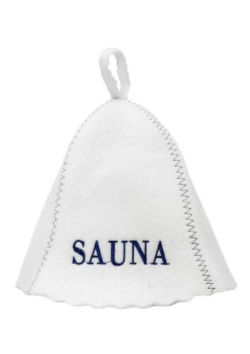 Sauna BERRETTO saunahut Cappuccio Cappello Berretto per sauna Banja Schapka Sauna Cappuccio баня