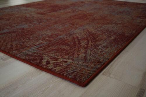 Patchwork Teppich Teppichboden Rot 200x220 cm