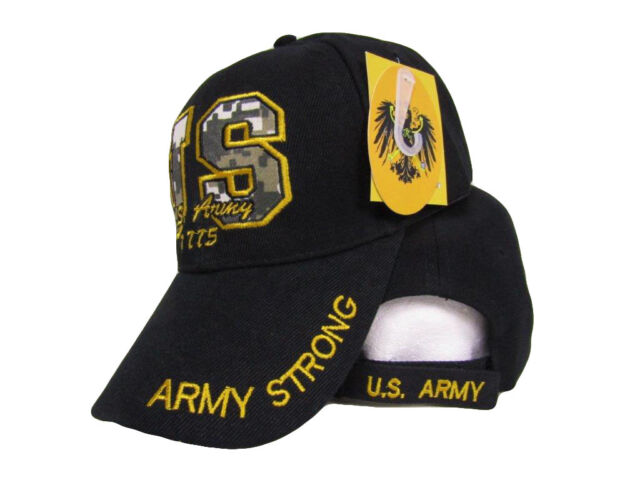 ff7b2f31c0b US Army Strong 1775 Letters Embroidered Camo Camouflage Hat Cap for ...