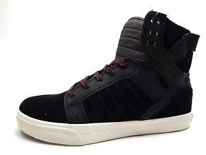 Supra Skytop Men Black/Tawny/Pristine Shoes