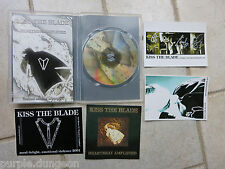 KISS THE BLADE -  Heartbeat Amplified CD 500 Copies made + sticker + postcards