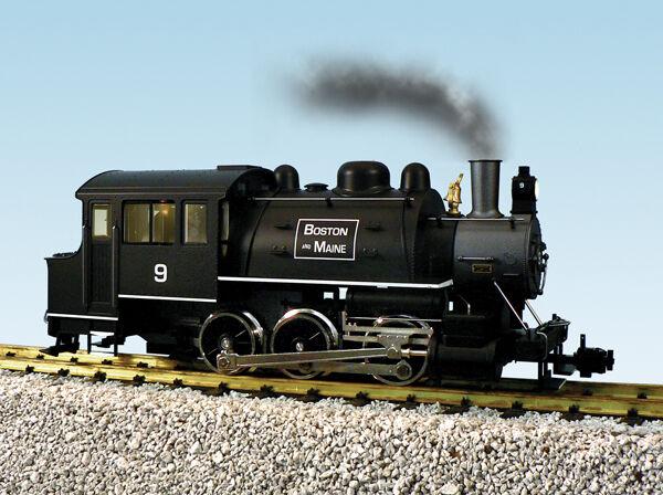 USA Trains Dockside 0-6-0T Escala G Locomotora de vapor R20059 Boston & Maine (9)