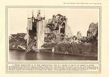 1916 Serengeti Big-game Shooting Ruins Factory Dixmude