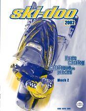 Ski-Doo parts manual catalog book 2002 MACH Z