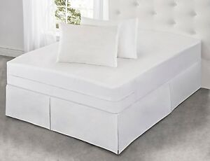 All In One Mattress Protector With Bed Bug Blocker Triple