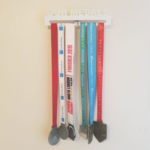 Medal Display Hanger Wall Holder Acrylic Plastic Perspex with fixing Bracket