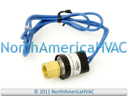 90 50 Close Low Pressure Control Switch w// Automatic Reset Supco SLP5090 Open