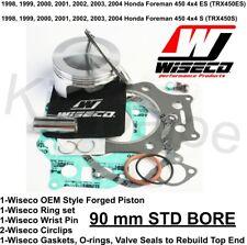 Namura .020 Over Bore Piston Kit 1998-2004 Honda Foreman 450 4x4 TRX450 90.50mm