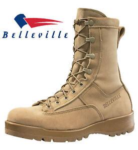 Belleville-790G-Men-039-s-Waterproof-Flight-Military-Combat-Boots-TAN-9-5R-to-13R