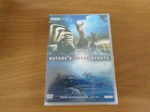 Nature-039-s-Great-Events-DVD-2009-Brian-Leith-cert-E-2-discs-and-FREE-P-amp-P