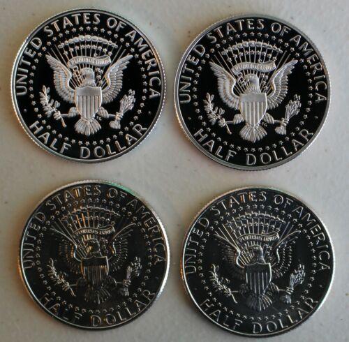 1996 S Proof Kennedy Half Dollar Coin 50 Cents JFK 50c