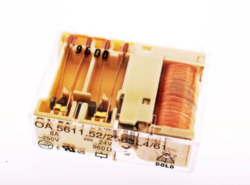 Safety RELAY OA5611.52/2563L4 Dold 8A 24V 960Ohm Relay OA 5611 #714671