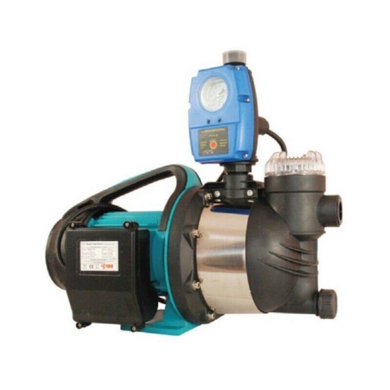 Wasserpumpe 1300W 80l min inkl. Filter Trockelaufschutz Jetpumpe Gartenpumpe Hau