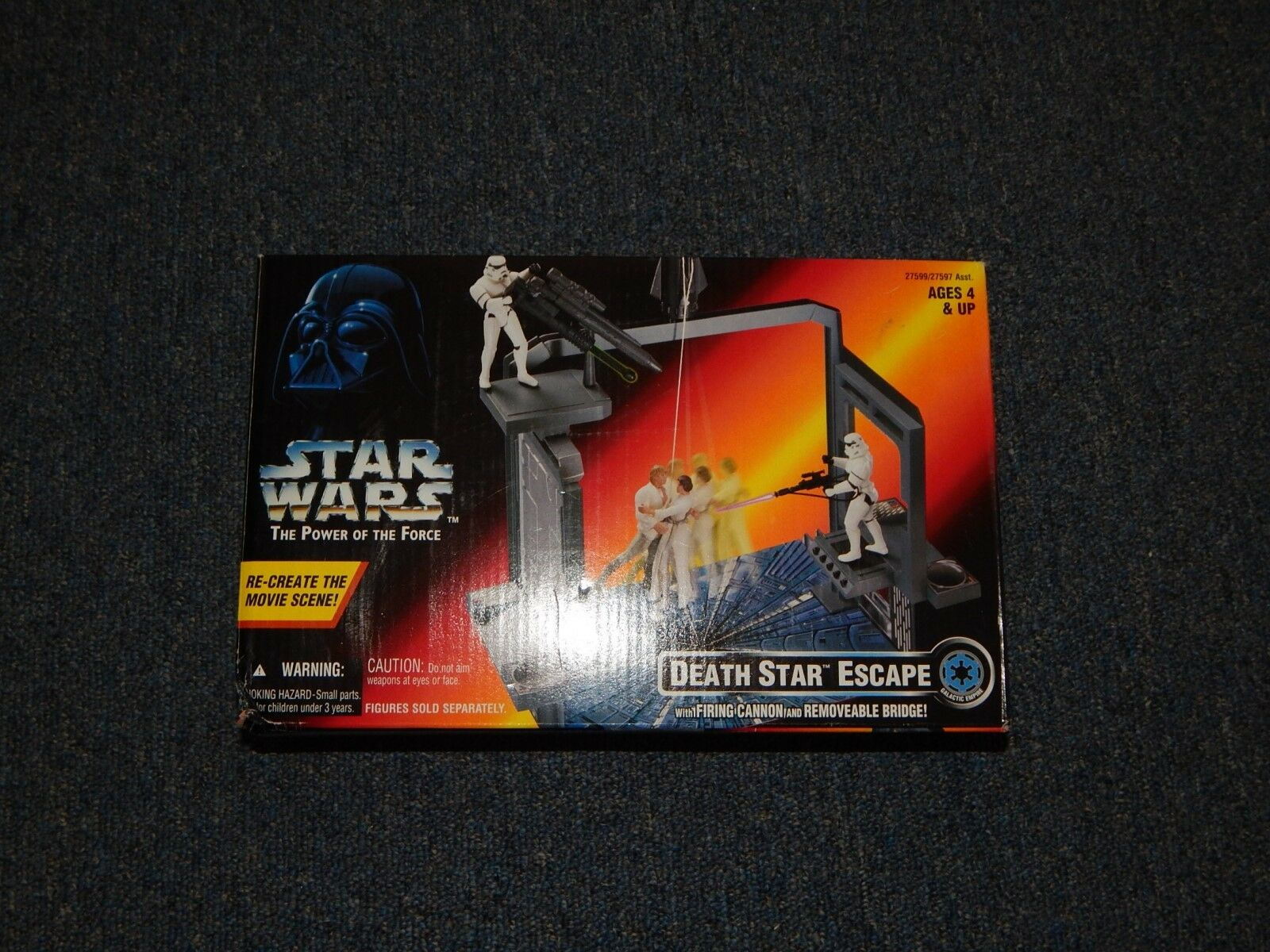 Star Wars 'Power Of The Force' DEATH STAR ESCAPE Playset Kenner 1996 Sealed Rare