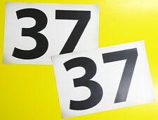 MINI COOPER 'WORN LOOK' MONTE CARLO Paddy Hopkirk style '37' RALLY RACE NUMBERS