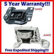 K992 Fit 04-09 Mazda 3 w/o Turbo/ 06-10 Mazda 5, 2.3L Front RT & Trans Mount 2PC