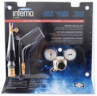 Harris Inferno Hx-5mc X5mc Turbo Torch Extreme Air Acetylene Kit Quick Connect on sale