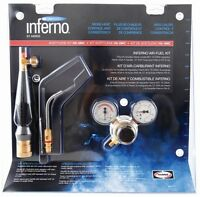 Harris Inferno Hx-5mc X5mc Turbo Torch Extreme Air Acetylene Kit Quick Connect on sale