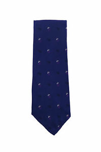 Finamore Napoli Dark Blue Other Silk Tie - x - (1352)