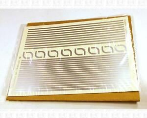 Virnex HO Decals Lt Yellow 7//64 Inches Stripe Set 9152