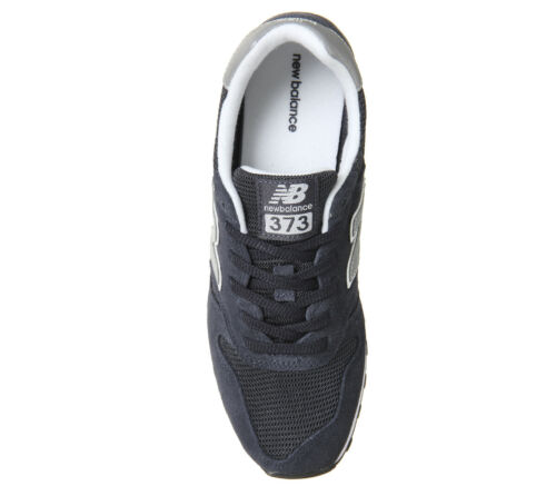 Mens New Balance 373 Navy Silver Trainers Shoes