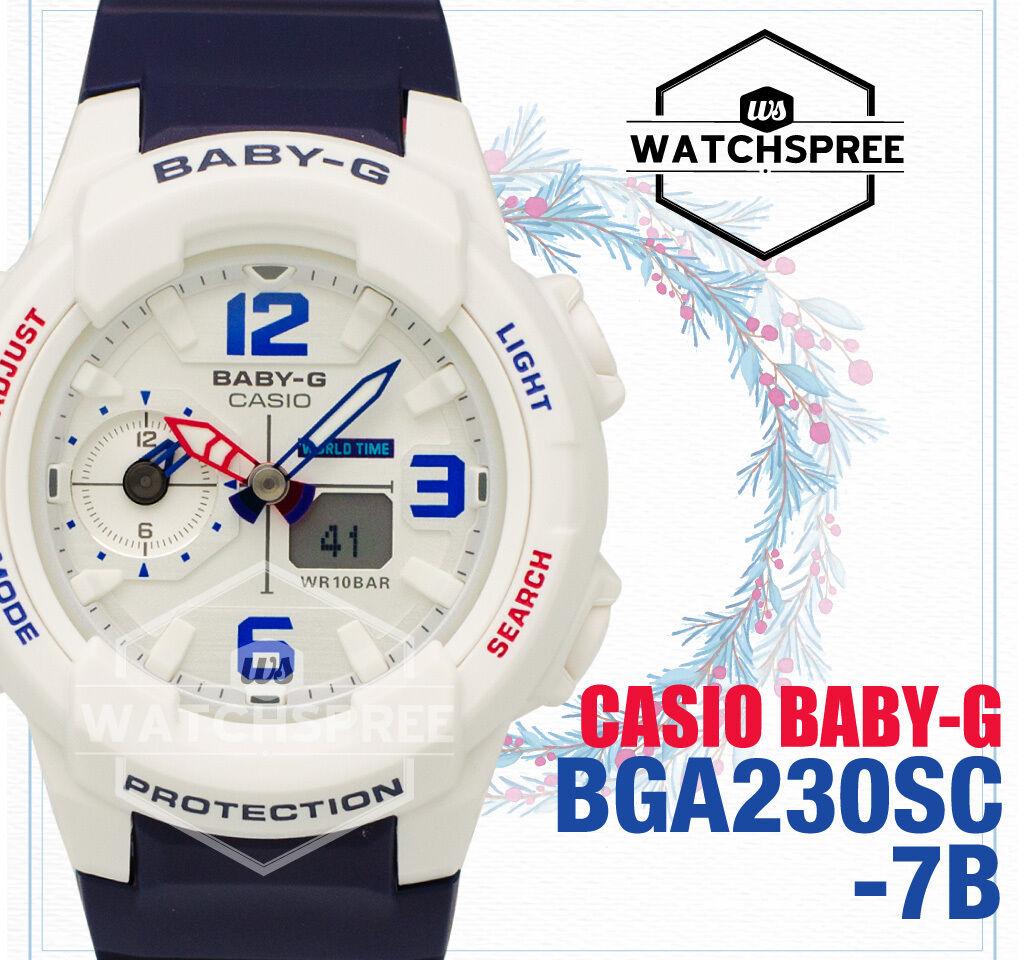 Casio Casual Watch Baby G Blue Ladies Bga 230sc 7b Ebay 150ef Norton Secured Powered By Verisign
