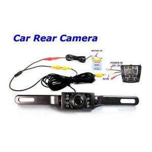 7-LED-Nachtsicht-Auto-Rear-View-Reverse-Backup-Parken-Kamera-CMOS-Wasserdicht