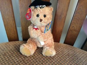 "Ty Beanie Baby 2.0 ""SCHOLARS"" the Bear (Grad Cap Version) 2008"
