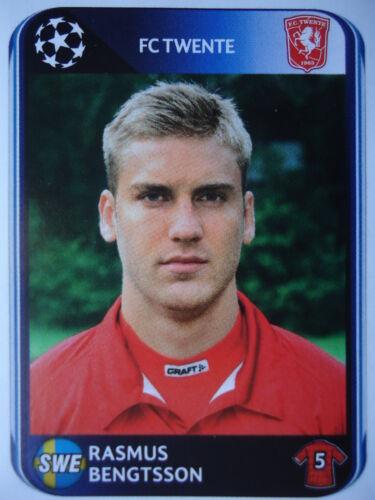 Panini 61 Rasmus Bengtsson Twente Enschede UEFA CL 2010/11 Fußball-Fanshop