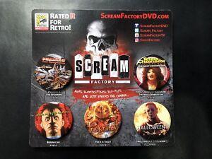 SDCC-2018-EXCLUSIVE-Scream-Factory-Promo-Button-Set-Halloween-Trick-R-Treat