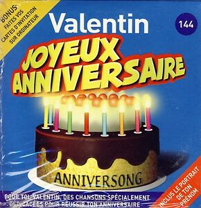 chanson anniversaire valentin