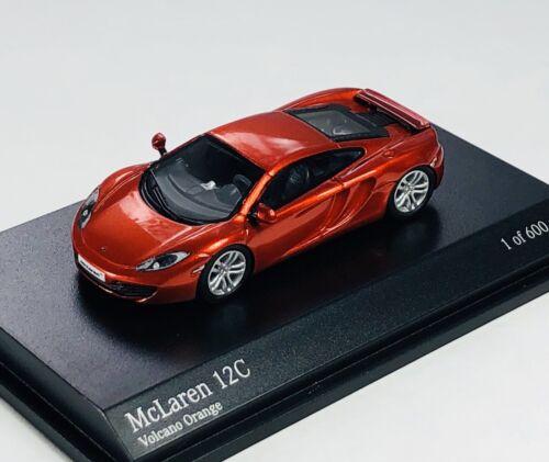Minichamps 1/87 HO 2012 McLaren 12C Volcano Orange Metallic 877-133020