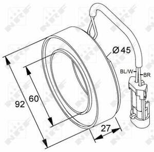 Compresor-A-C-parte-del-embrague-38420-NRF-1618329-1854-272-9118281-93181006-Calidad