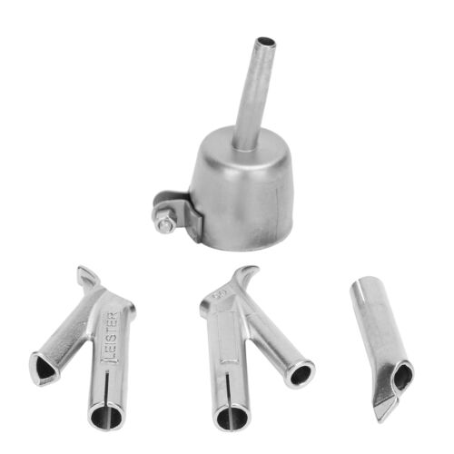 4Pcs Speed Welding Nozzles For Vinyl PVC Plastic Hot Air Gun,5mm Weld Tip UK