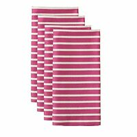 Kate Spade Harbour Drive Napkin, Pink, 4-pack, New, Free Shipping on sale