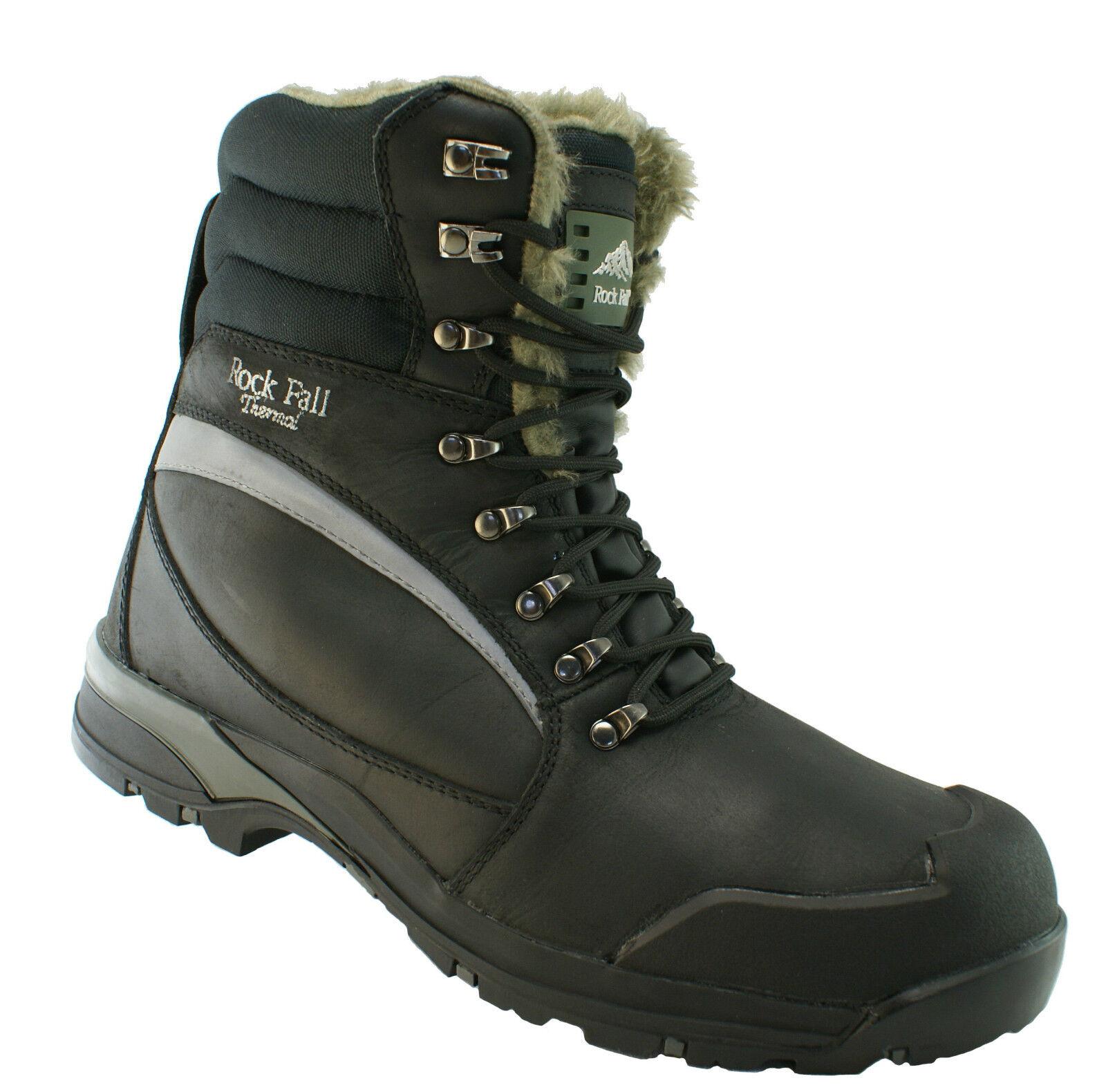 Rock Fall Alaska dames noir bottes de sécurité S3 CI SRC embout en Composite Cap travail à froid