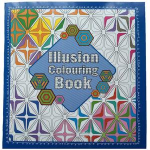 Coloriage Anti Stress Illusion Doptique.Illusion D Optique Adulte Carnet De Coloriage 64 Pages Anti Stress