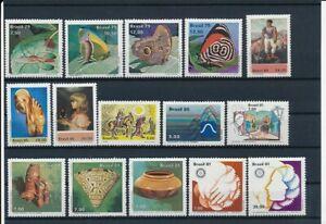 D066439-Brazil-Nice-selection-of-MNH-stamps