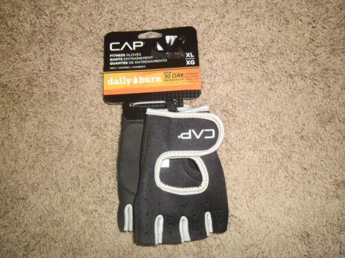 CAP Fitness Gloves Black NWT