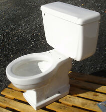 VINTAGE WHITE 1958 AMERICAN STANDARD TOILET - COMPLETE- FREIGHT AVAILABLE!