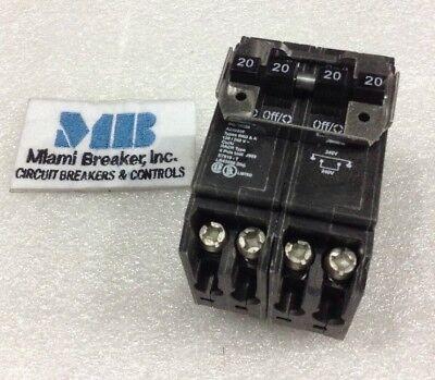 CUTLER HAMMER BQ220230 NEW QUAD CIRCUIT BREAKER 20//30//20 AMP 120//240 VAC