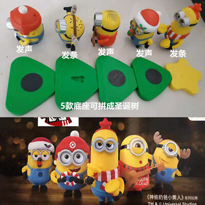 Minions Christmas.New China Mcdonald S Kfc Despicable Me Minions Christmas Toys Ebay