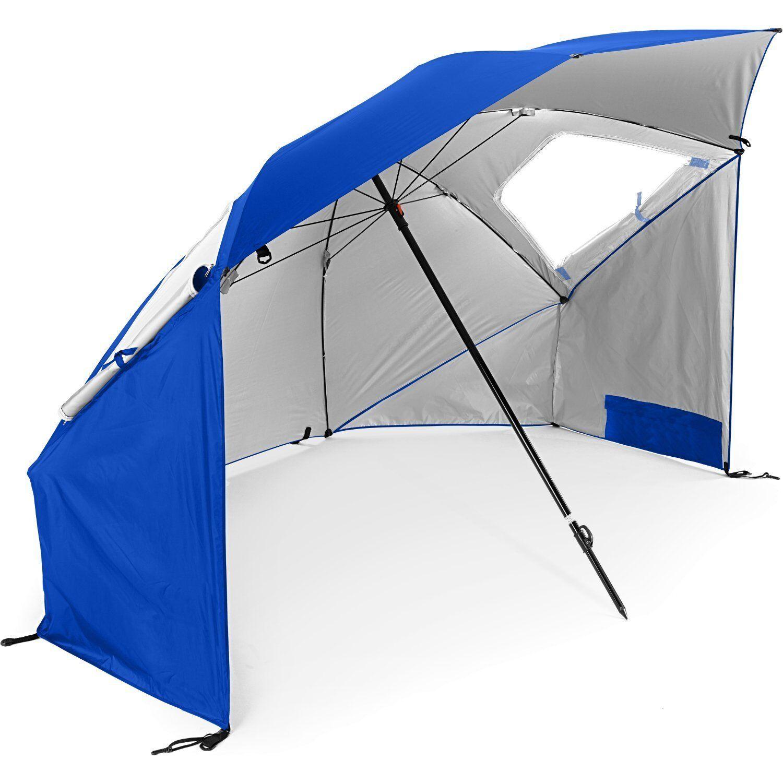 New Sport-Brella Portable  All-Weather and Sun Umbrella. 8-Foot Canopy beach camp  the classic style