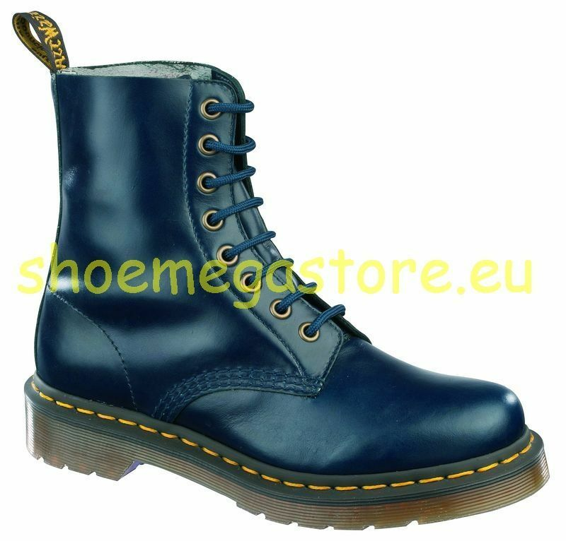 Dr Martens 8 Loch Pascal Dress Blues 13512204 Original Classic Doc