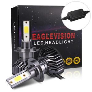 2x-H7-LED-Scheinwerfer-Birnen-1400W-210000LM-FOG-LIGHT-BULBS-BEAM-KIT-6000K