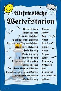 Wetterstein wetterstation gartendeko wettertafel humor 3 for Gartendeko schilder