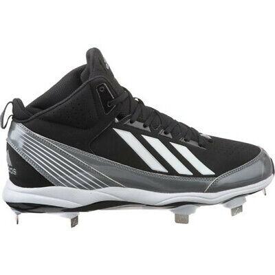 Adidas Poweralley 3 Métal Softball Bas Blanc Baseball Crampons-Taille S84756