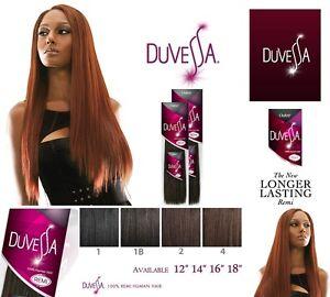 Outre Duvessa 100 Remi Human Hair Yaki Weave Extension 10 12 14